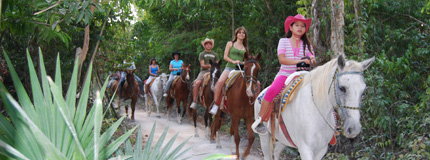 Cancun-Horseback Riding - Cancun