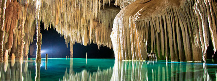 Cancun-Rio Secreto Expedition