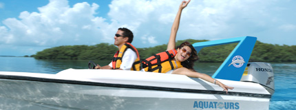 Cancun - Speedboat Tour