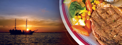 Cancun - Columbus The Lobster Dinner Cruise-Surf n� Turf