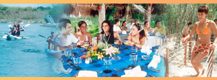 Cancun-Xel Ha All Inclusive Tour