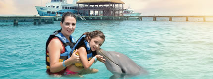 Isla Mujeres - Royal Garrafon+Dolphin Encounter