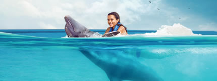 Isla Mujeres - Royal Garrafon+Dolphin Swim Adventure