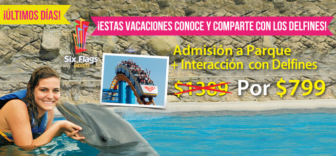 Admision a Paque - Marzo 2015 - Dolphin Sixflags