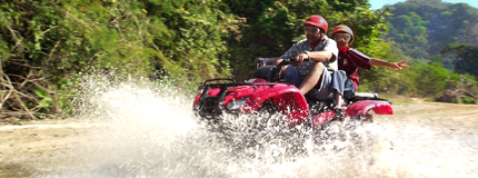 Puerto Vallarta-ATV´S adventure in Nuevo Vallarta (Double)
